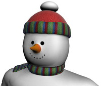 Snowman Toy Animated