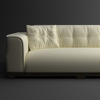 Classical leather sofa