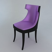 modern chair obj