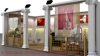 3ds bona exhibition stand design