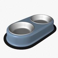 pet feeder 3d model