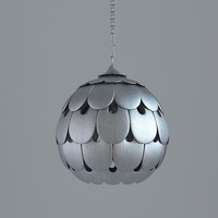 Modern colour of old silver lamp
