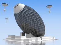 3d future building 7 model