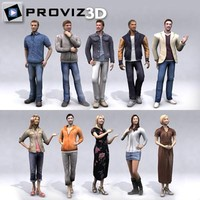 3D People: Casual People Vol 1