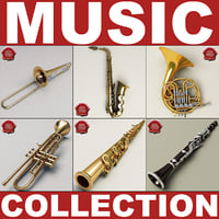 Music Instruments Collection V6