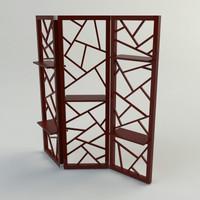 screen - materials 3d model