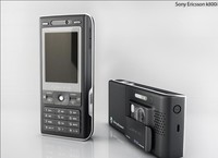 3d model sony ericsson k800i