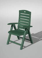 3d lwo garden chair
