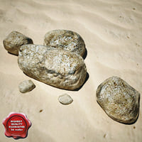 stones v10 3d model