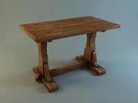 Table in medieval style1