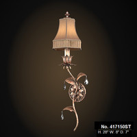 fine art lamp classic sconce wall lamp 417150st