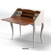"giorgio piotto BUREAU ONVITER classic lady""s desk table"