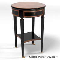 Giorgio Piotto classic side table round
