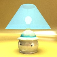 little lamp 3d model