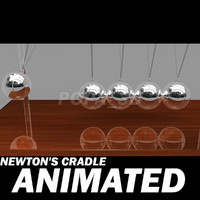 3d newton cradle