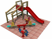 3ds playground equipment