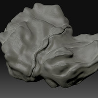 3ds max asteroid rock