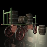 ready barrel wagon 3ds