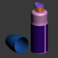 3d model spray bottle