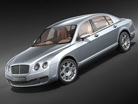 bentley continental flying spurr 3d max