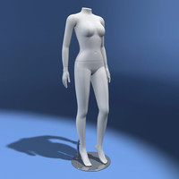 3d model dummy showrooms shop