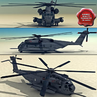 3d ch-53 sea stallion model