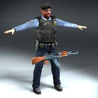 Iraqi_Policeman_3DModel