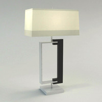 Contemporary  Table Lamp-Vray 1.5 SP2 Materials