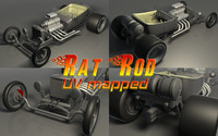 3ds max rat rod