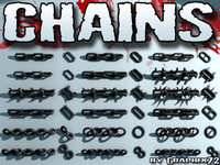 3d chains linked