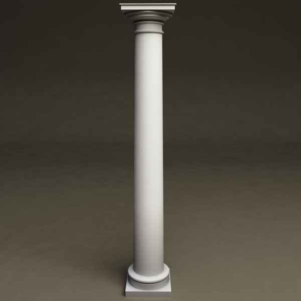 3d 3ds Tuscan Order Column