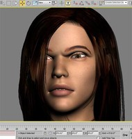 3d max woman character new package