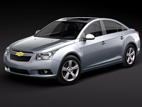 chevrolet cruze cobalt sedan chevy 2008 2009 2010 2011 sedan usa midpoly mid-poly