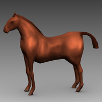 Low Poly Animated Horse