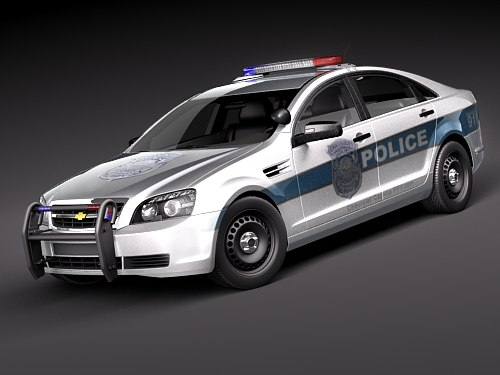 Chevrolet Caprice - Impala Police Patrol Vehicle USA 2011