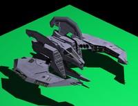 scifi riderxxl 3d model