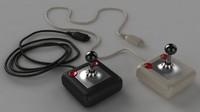 3d tac-2 joystick model