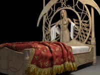 Fantasy bed - Rivendell Elf bed