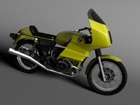 c4d bmw r100 rs touring