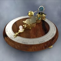 "Ferguson""s Mechanical Paradox Orrery"