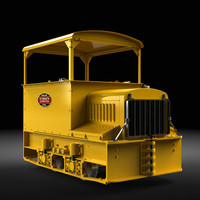 "Plymouth Gas-Mechanical Contractor""s Locomotive"