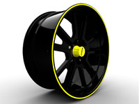 bonspeed big block wheel 3d model