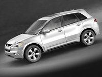 3d acura rdx 2008 model