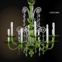 BAROVIER TOSO CLASSIC NEO MODERN CONTEMPORARY CHANDELIER CELIING LAMP 5589 CRYSTAL GLASS