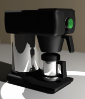 coffee making machine 3ds free