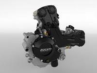 Ducati Testastretta 11 Engine
