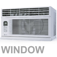 Air Conditioner window LG LWHD8008R