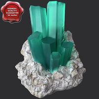 Mineral Akvamarin Beryl
