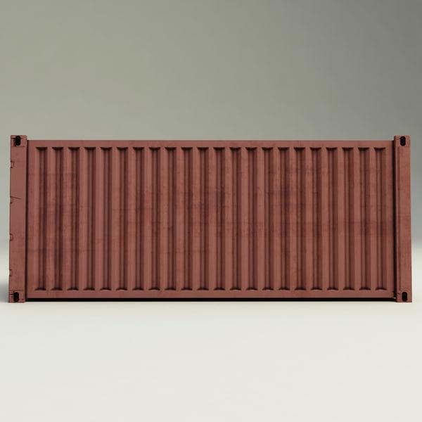 Rtg Crane Container 3d Model