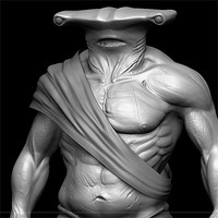 sculpt creature 3d 3ds